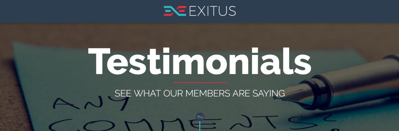 Exitus Elite Testimonials